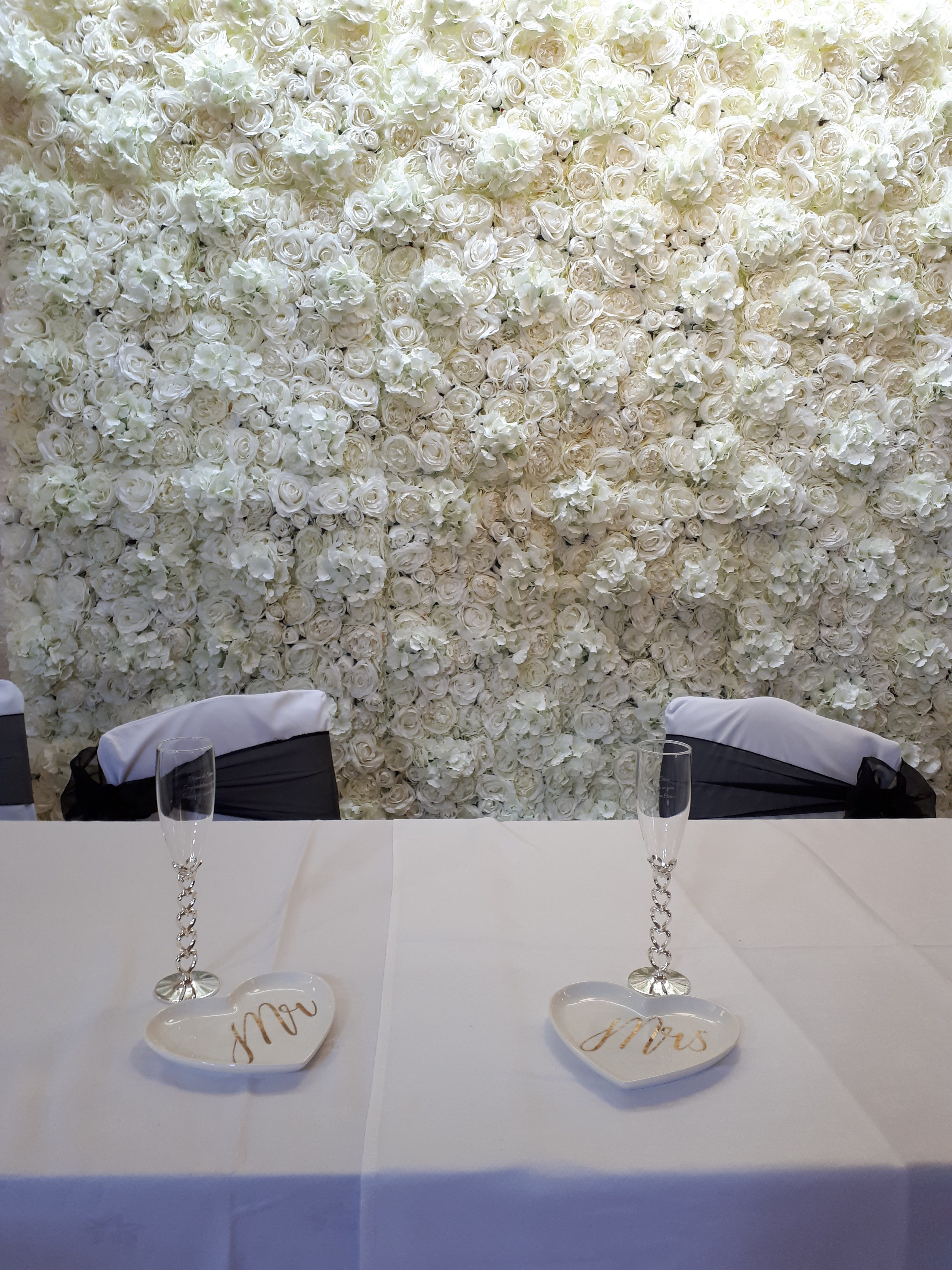 Flower Wall Hire South Wales