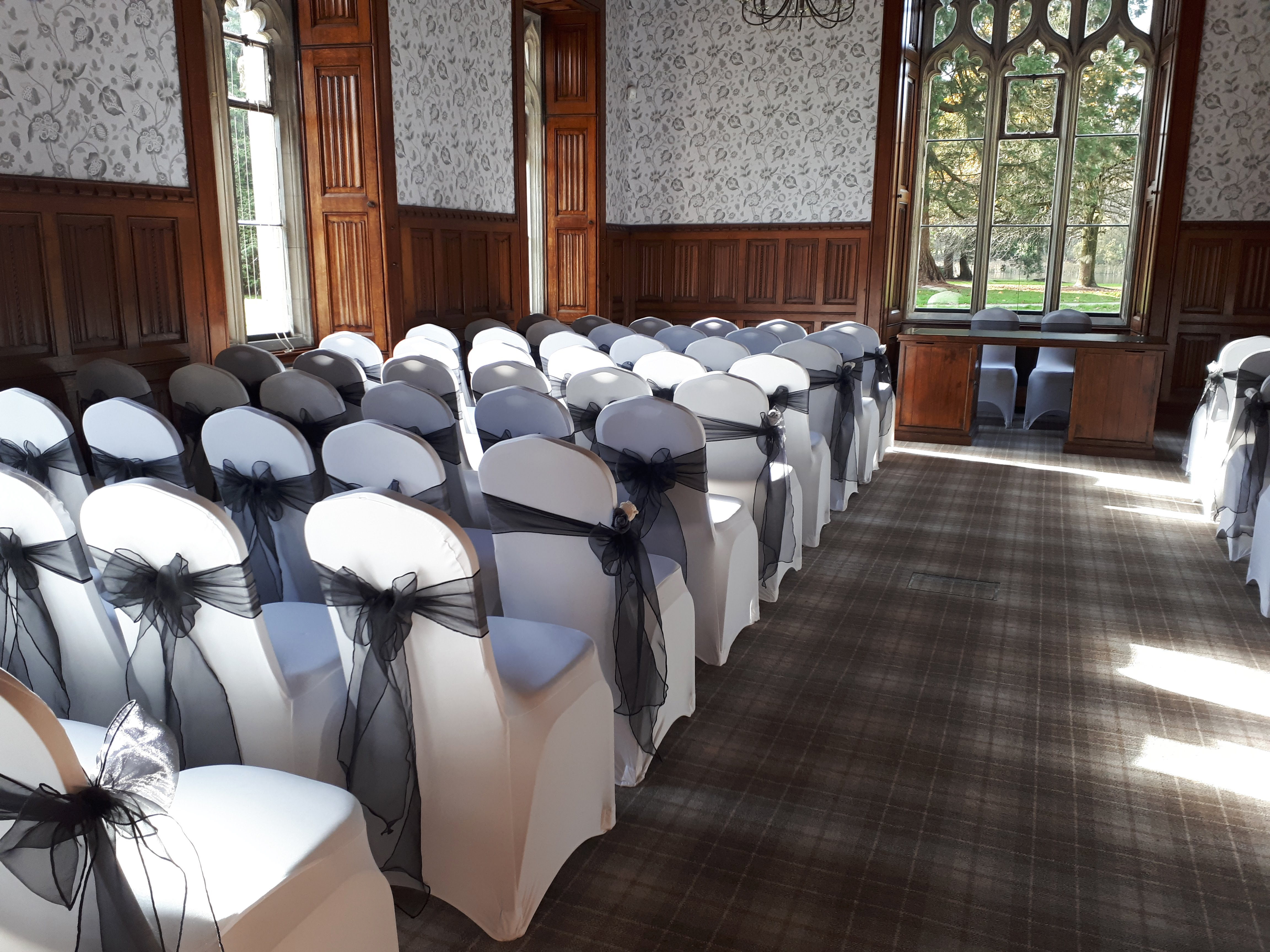 Chair cover hire South Wales