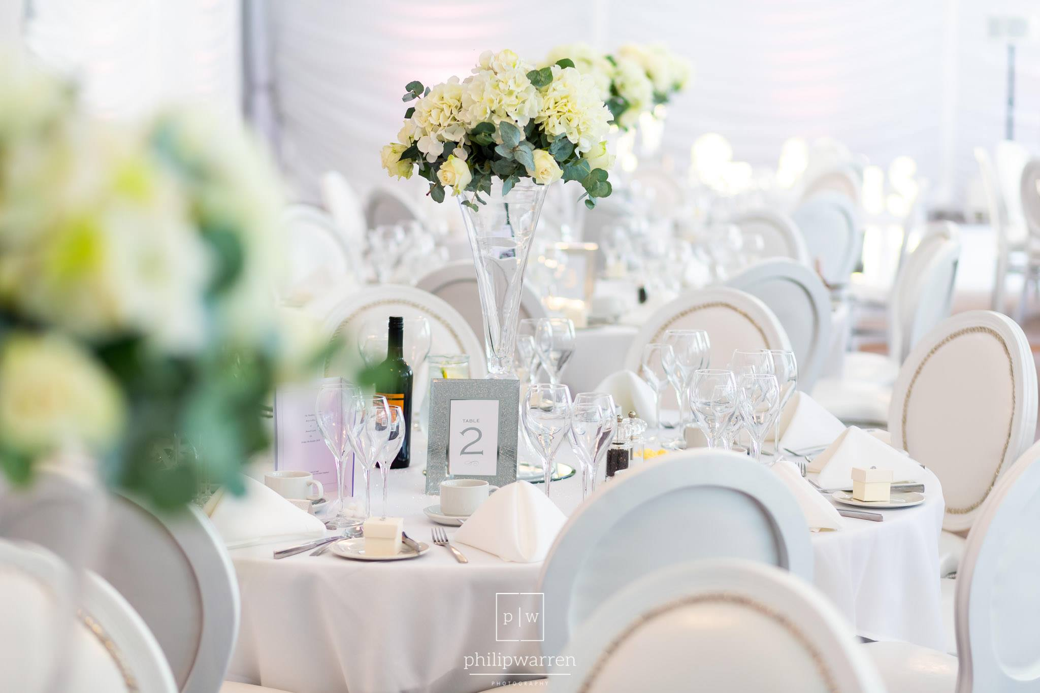 White Silver Beaded Louis Chair Hire