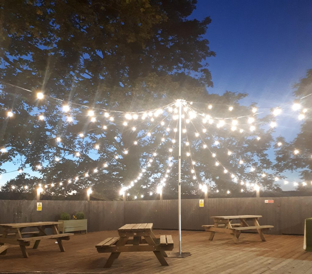 Festoon Light Hire Starlight Events South Wales