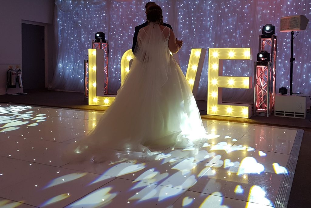 LED Dance Floor Hire South Wales
