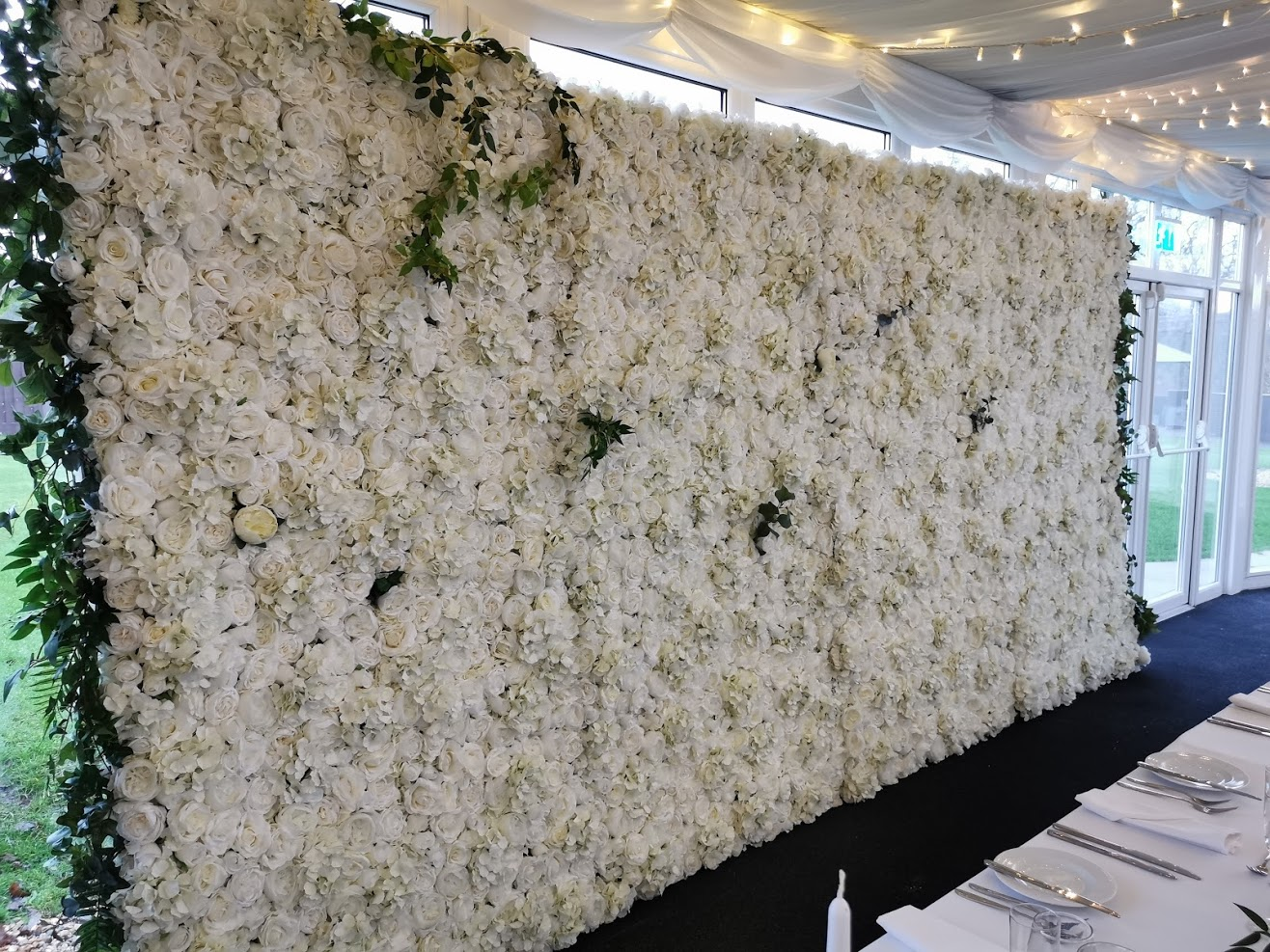 Flower Wall Hire Oldwalls