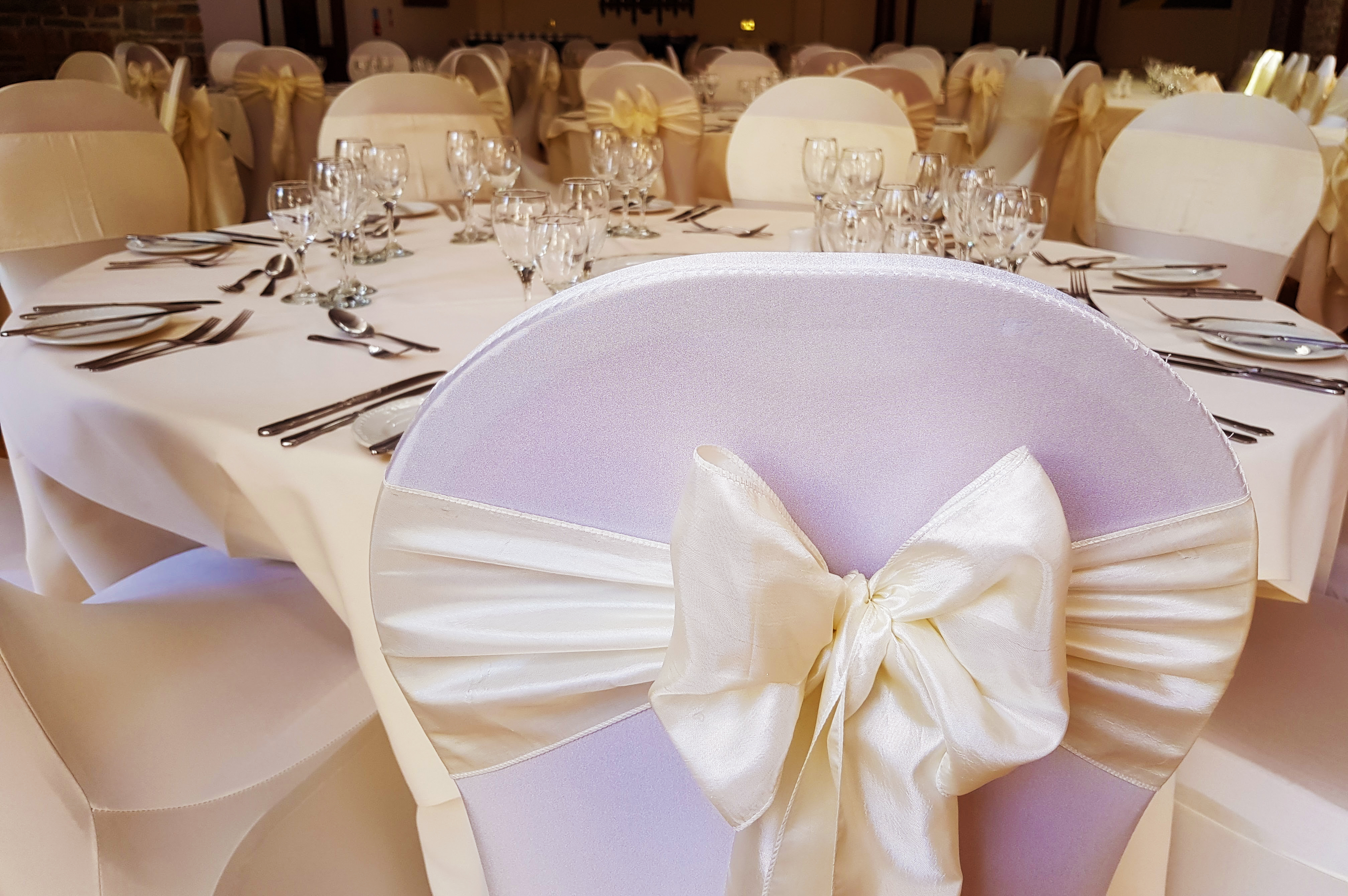 chair covers and sashes – Starlight Events
