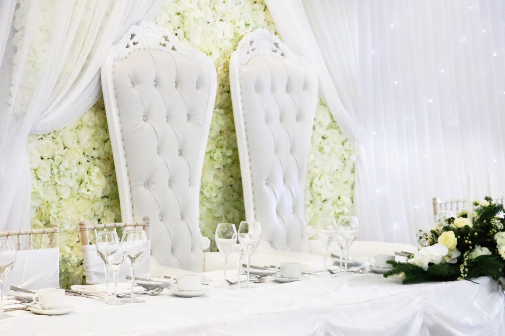 Wedding Thrones Hire South Wales