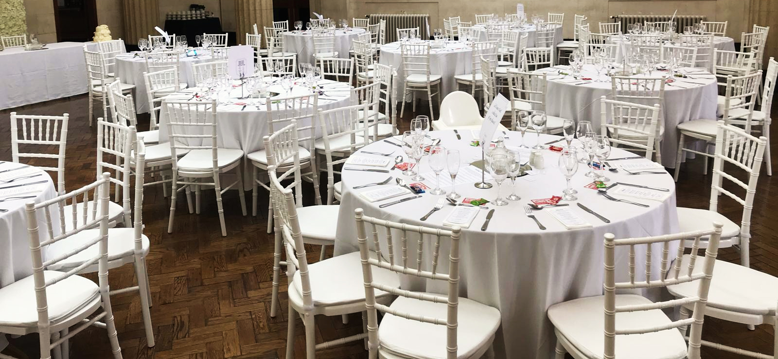 White Chiavari Chair Hire South Wales