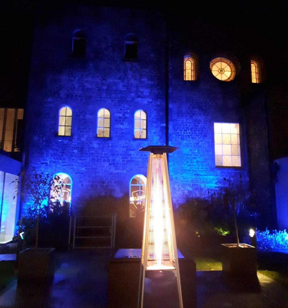 Hensol Castle Outdoor Uplighting