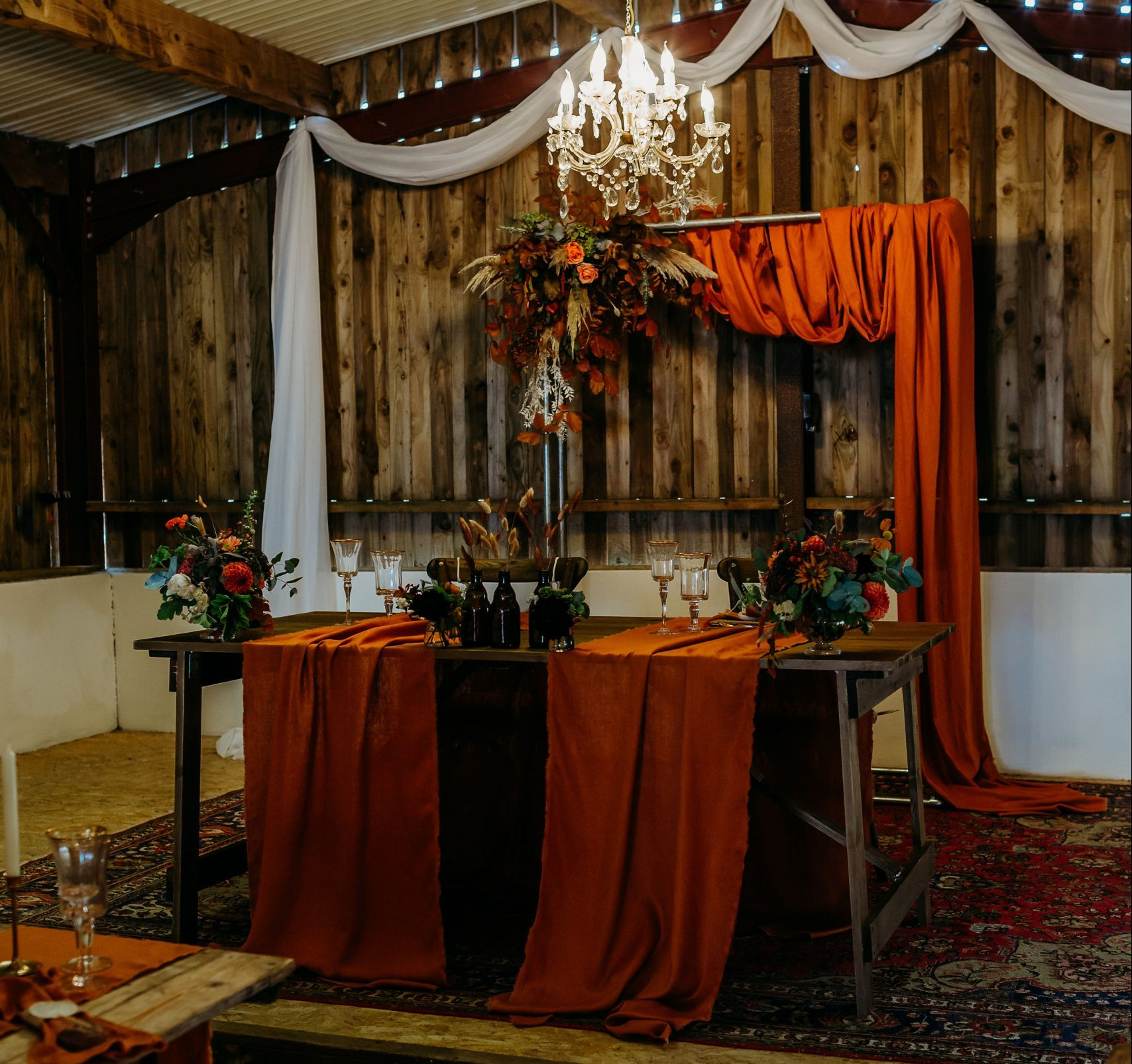 Rustic Wooden Table Hire